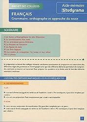 Grammaire, orthographe et approche du texte