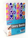 """Lot of 48 7"""" Emery Boards Nail Files on Counter Display Retail Ready"""