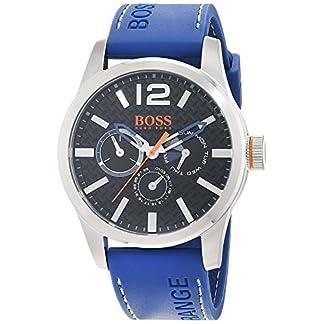 Hugo Boss Orange 1513250 – Reloj de pulsera analógico para hombre (correa de silicona, esfera con subdiales)