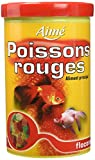 AIME Nourriture Poissons Rouges Flocons 1 L pour Aquariophilie