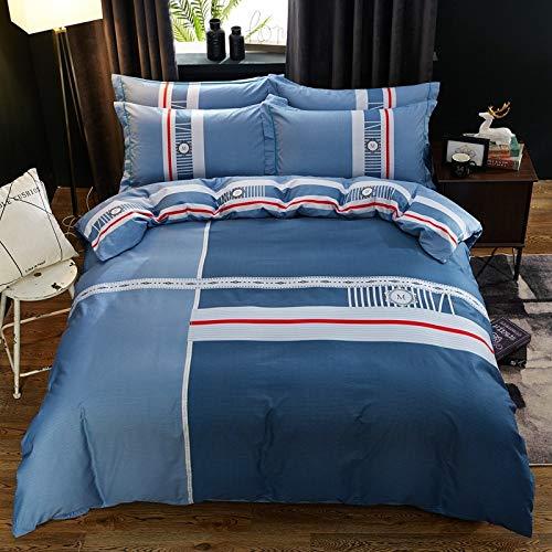 Yaonuli Cuatro Juegos de sábanas de algodón