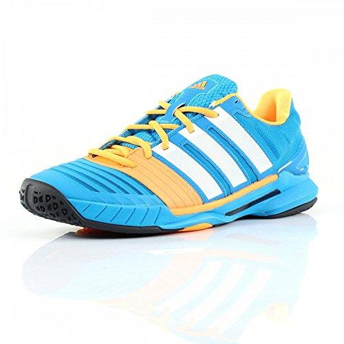 adidas  Adipower Stabil 11, Chaussures de handball hommes - blau / weiß / gold