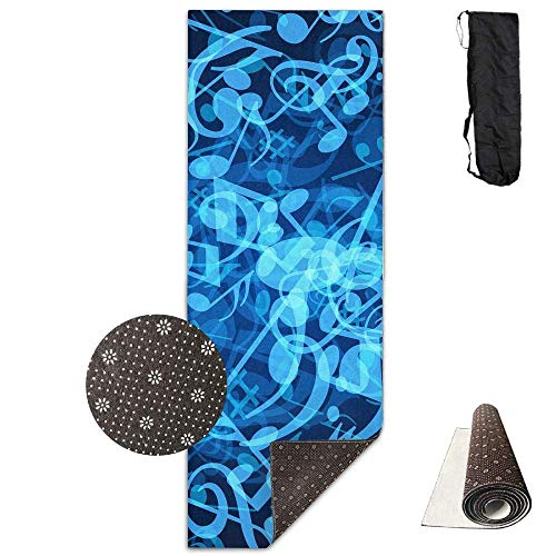 Bag shrot - Esterilla de Yoga Antideslizante (61 x 180 cm), diseño...
