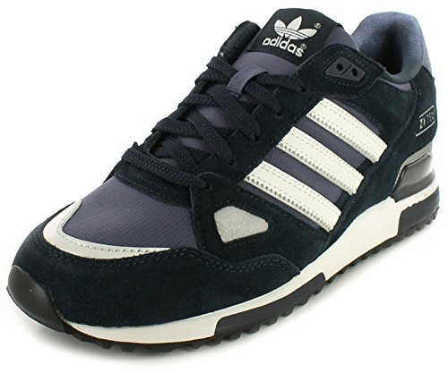 adidas - ZX 750, Sneakers, Unisex, Blu (Dunkelblau-Weiß), 44.6666666666667