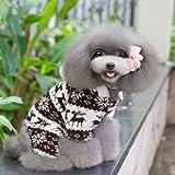 Warme weiche Hundepullover Hundewintermantel Kostueme Puppy Cat Overall Bekleidung Jacket