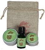 Set de regalo para el cuidado de la barba. Bergamota. Gift set Beard Grooming
