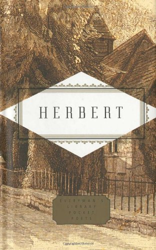 Herbert Poems Everyman S Library Pocket Poets