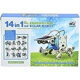 PRESENTSALE 14 in 1 Educational Solar Robot Kit toys for kids