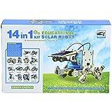 #3: PRESENTSALE 14 in 1 Educational Solar Robot Kit toys for kids