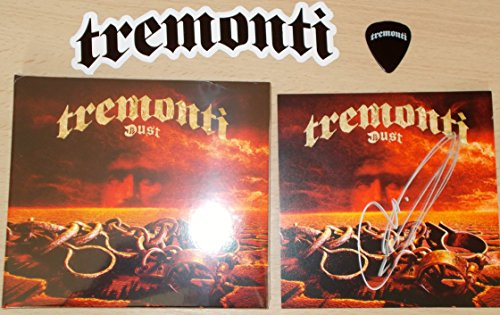 Dust: Cd (With Mark Tremonti Signed Artcard - Guitar Pick and Sticker)