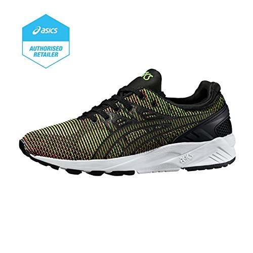 Asics Gel Kayano Trainer Evo, Sneakers Basses Mixte Adulte gecko green-guava