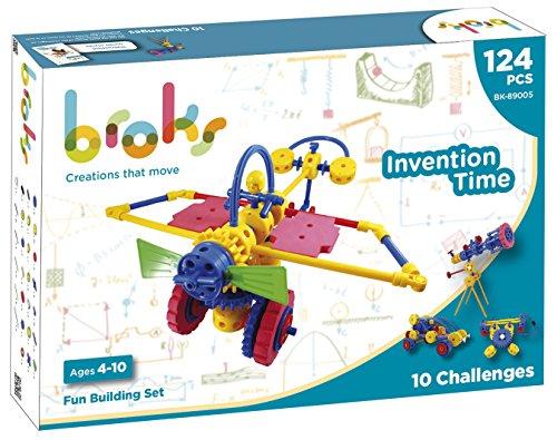 BROKS Invention Time - Juego construcción STEM 124