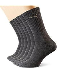 Puma - Calcetines deportivos unisex, color anthracite, talla 43-46