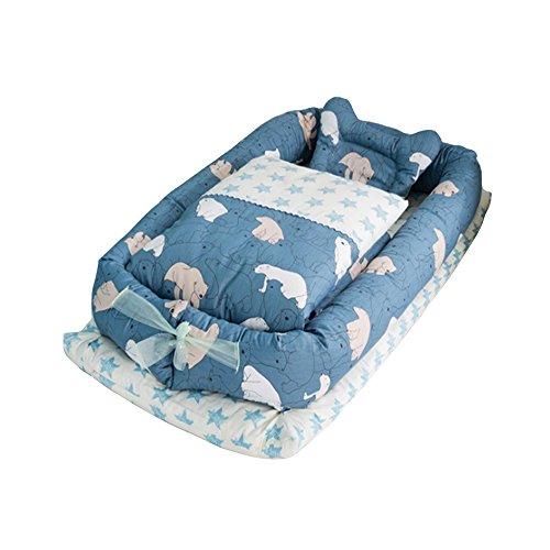 Baby Nido, T-MIX 100% Algodón Orgánico/Lavable - Recién Nacido 0-24 Meses Saco...