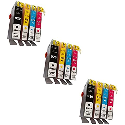 Prestige Cartridge HP 920XL Cartucce d'Inchiostro Compatibile per Stampanti HP