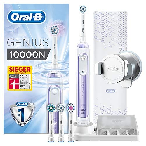Oral-B Genius 10000N Elektrische Zahnbürste, inkl. Premium Lade-Reise-Etui