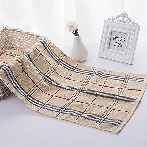 ERRU- Asciugamano di cotone / Plain fumetto Washcloth / morbido assorbente asciugamano / Coppia di (Tovagliolo Di Mano Washcloth)