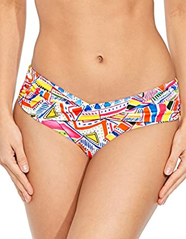 figleaves swimwear Womens Havana Twist Bikini Brief size 10 in