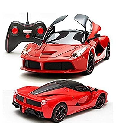 Buy The Flyers Bay Rechargeable Ferrari Style Remote Controlled Car With  Fully Function Doors, Red Online At Low Prices In India   Amazon.in  Car Flyers
