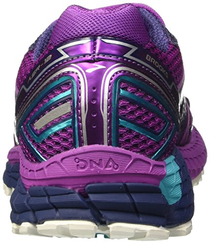Brooks Adrenaline Asr 12, Scarpe da Corsa Donna Multicolore (Purple Cactus Flower/Blue Bird/Blue Print)
