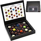 Hallingers Pralinen-Geschenk 24 Einhorn-Wünsche Frei - 24 Pralinen feinster Schokolade