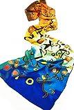 Prettystern - 160cm Gustav Klimt Jugendstil Kunstdruck langer Seidenschal (matte 100% Seide)