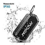 Mpow Bluetooth Lautsprecher, V4.2 Bluetooth&Aux-Kabel, HD-Stereo, IPX6 Wasserdicht, 15 Stunden mit...