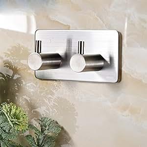 zunto handtuchhaken haken selbstklebend bad und k che handtuchhalter kleiderhaken ohne bohren 2. Black Bedroom Furniture Sets. Home Design Ideas