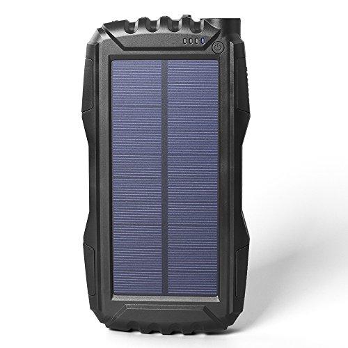soluser Solar Powerbank Solar Ladegerät  im Test