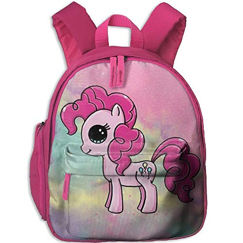 Big Pony Oxford (Pink Unicorn with Big Eyes Kid and Toddler Casual Backpack College School Bag Travel Daypack)