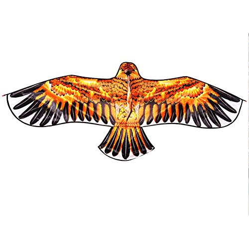 fashion-gallery-18m-golden-eagle-kite-with-handle-line-kite-games-bird-kite-chinese-kite-flying-drag