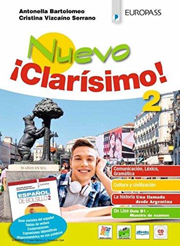 Nuevo ¡Clarísimo! Con Español de bolsillo. Per le Scuole superiori. Con ebook. Con espansione online. Con CD-Audio: 2