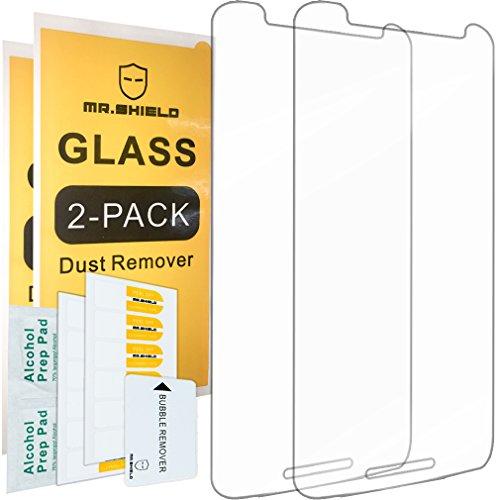 [2er Pack] -mr Schild für Moto Motorola Droid Maxx 2[gehärtetem Glas] Displayschutzfolie mit Lebenslange Umtausch-Garantie