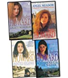 Audrey Howard 4 Books Collection Pack Set RRP: £27.96 (Painted Highway, Angel Meadow, Whispers on the Water, A Place Called Hope)