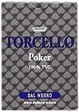 Dal Negro 24102 - Poker Torcello Singolo Astuccio Blu, Carte da Gioco