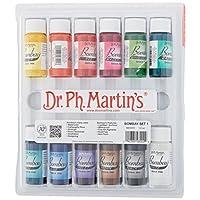 Dr. Ph. Martin's BOMB05OZSET1 Bombay India 1) Ink Set 0.5 oz Colors