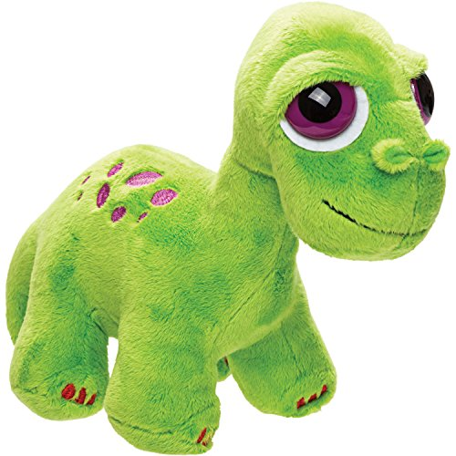 Suki Gifts Brontosaurus de peluche de juguete, verde, tamaño mediano