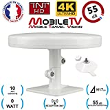 Omni Pro Plus - Antena de televisión TDT (55 dB, TDT HD, OMNIDIRECCIONAL), camión y Furgoneta