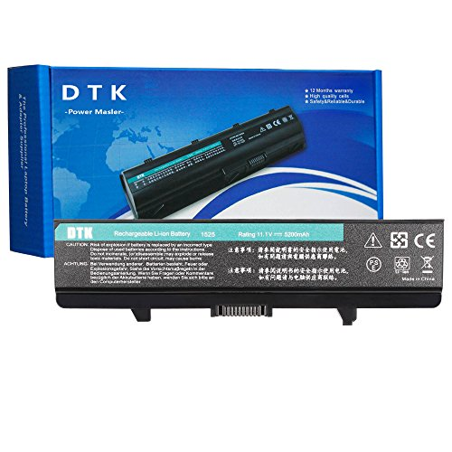 Dtk® Ultra Hochleistung Notebook Laptop Batterie Li-ion Akku für DELL Inspiron 1525 1526 1545 1546 1440 1750 VOSTRO 500 . K450N [ 6-cell 11.1V 4400mah / 48wh] Notebook battery