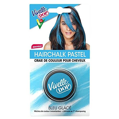 Vivelle Dop hair chalk pastel blue issue-bleu turquoise - ( Prix Unitaire ) - Envoi Rapide Et Soignée