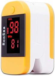 DOMDIL-Saturimetro da Dito di OLED, Pulsossimetro Portatile Professionale, Ideale oer Monitoraggio della Saturazione dell'Os