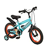Bicicletta per Bambini All'aperto Bicicletta da Gioco Coperta Triciclo da Viaggio per Bambini Bella Bicicletta Bicicletta per Bambini Estiva Bicicletta per Bambini (Color : B, Size : 14inches)