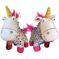 Whitehouse Peluche de Unicornio Fluffy con Pijamas Color de su Elección 50cm de la pelicula GRU