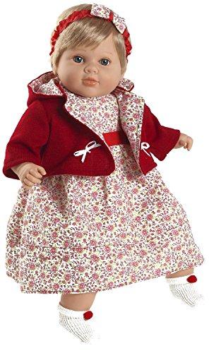 Berbesa - Carla, muñeca habladora con Chaqueta roja, 52 cm (7208)