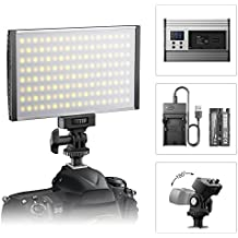 Luz LED de Video Cámara Panel,ESDDI Antorcha Led Video para Iluminación,3200K a