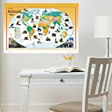Best Brewster Of National Geographics - Wall Pops WPK1059 National Geographic Animals of the Review
