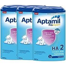 Aptamil ProExpert HA 2 hipoalergénico me siguen, a partir del 6º mes EazyPack, 3-pack (3 x 800 g)