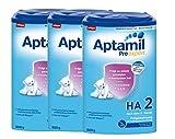 Aptamil ProExpert HA 2, Hypoallergene Folgemich, ab dem 6. Monat EazyPack, 3er Pack (3 x 800g)