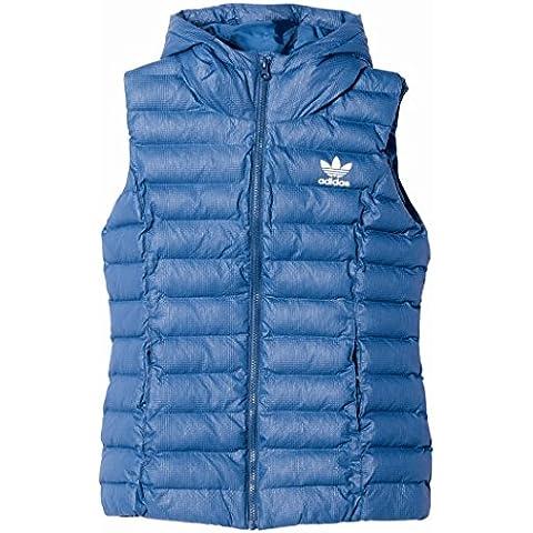 adidas Slim Vest - Chaleco para mujer, color multicolor, talla 38