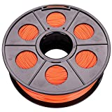 Filament, Rotolo per stampante 3D PLA | ABS 1,75 mm, 1 kg, bobina tamburo cartuccia, ABS 1,75 mm, Orange, 1